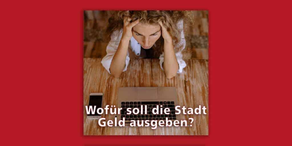 Mitbestimmen, wofür Freiburg Geld ausgibt