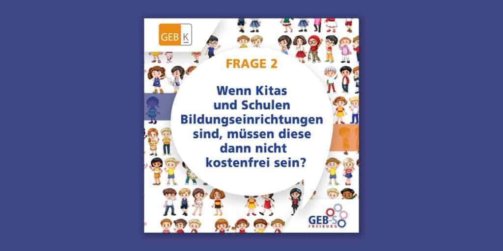 """Muss Bildung nicht kostenlos sein? Frage 2 bei """"Eltern fragen Landtagswahl-Kandidat*innen"""""""