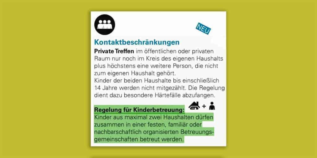 Novelle der Kontaktbeschränkungen in Baden-Württemberg ab 11. Januar