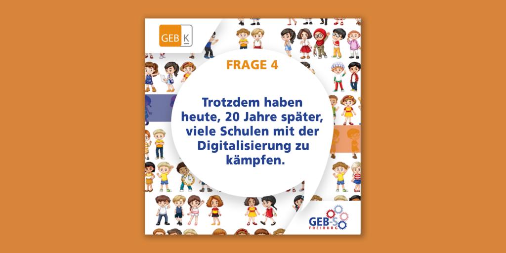 """Warum geht die Digitalisierung kaum voran? Frage 4 bei """"Eltern fragen Landtagswahl-Kandidat*innen"""""""