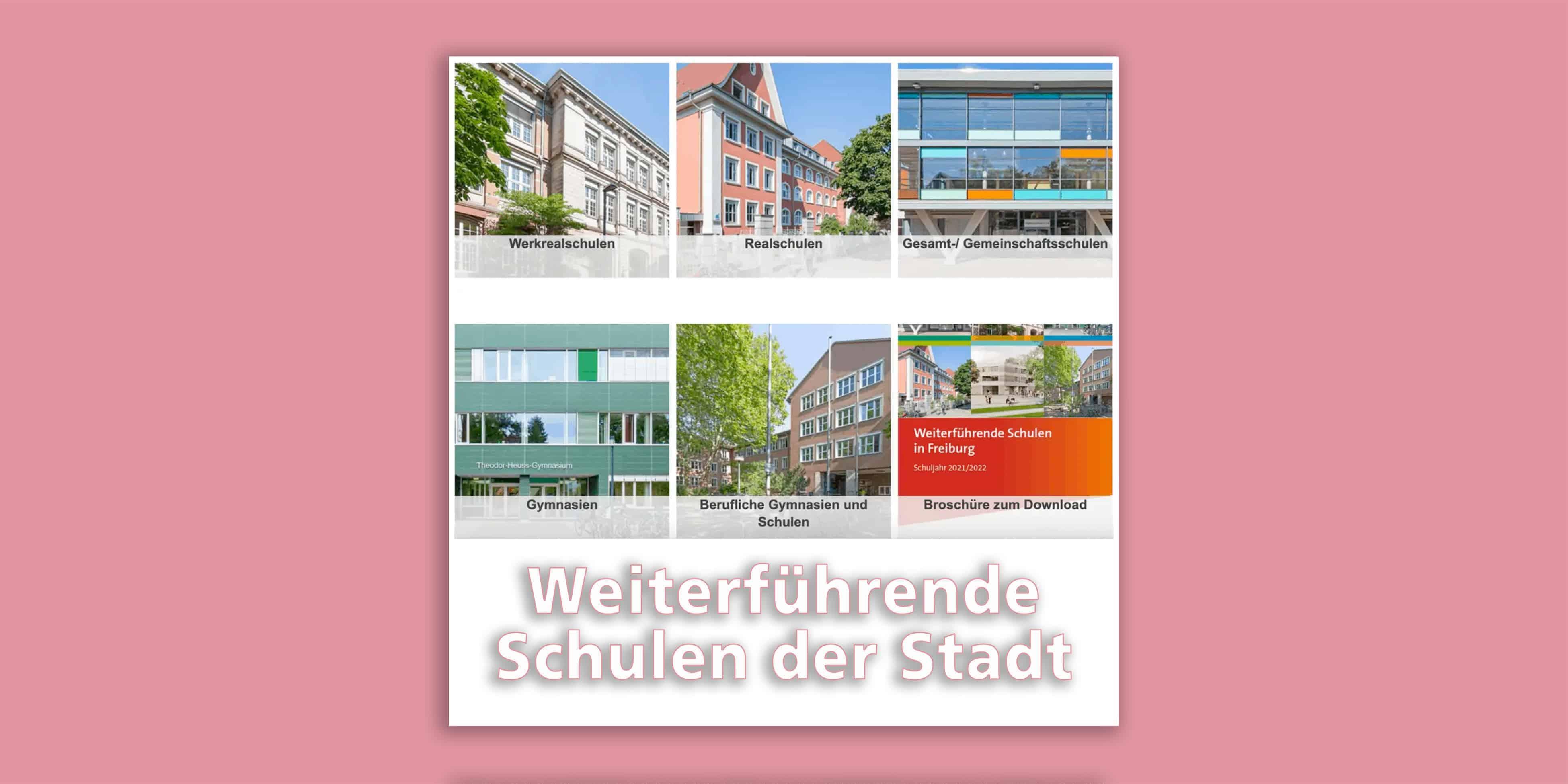 Weiterführende Schulen in Freiburg