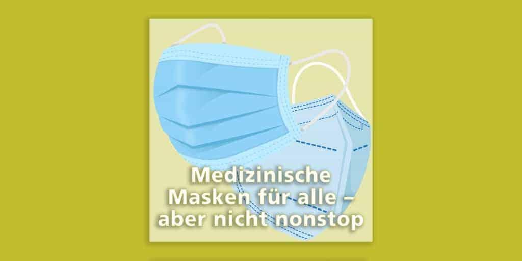 Medizinische Masken auch an Grundschulen: Das sind die Details