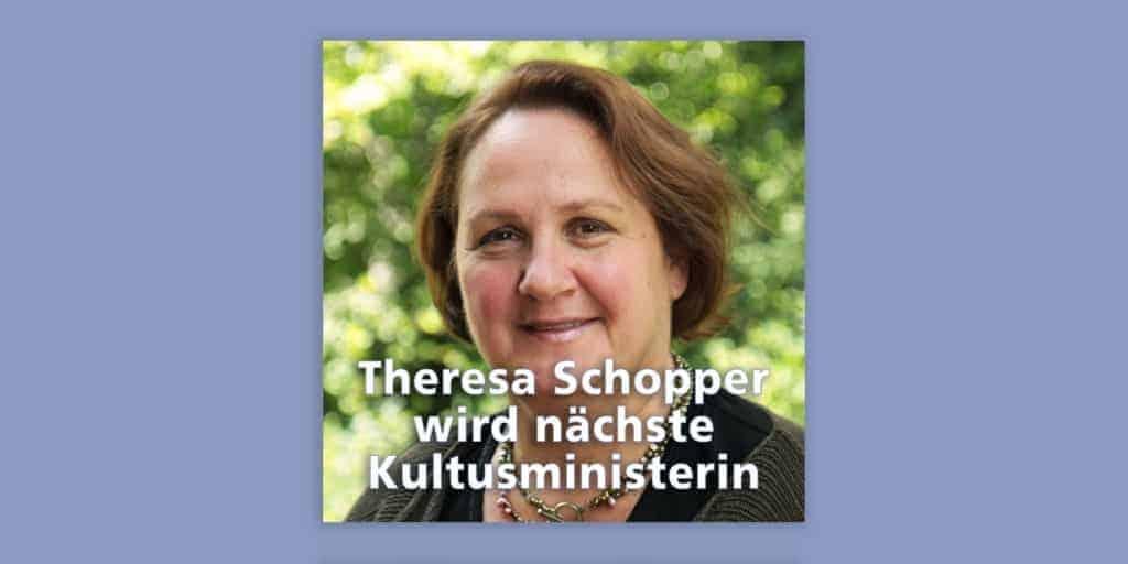 Die Neue: Theresa Schopper (Grüne) wird nächste Kultusministerin